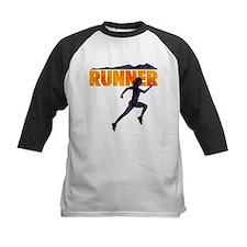 female runner.png Baseball Jersey