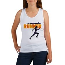 female runner.png Tank Top
