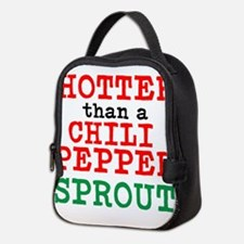 Hotter than a Chili Pepper Sprout Neoprene Lunch B