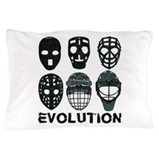 Hockey Goalie Mask Evolution Pillow Case