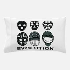 Hockey Goalie Mask Evolution Pillow Case