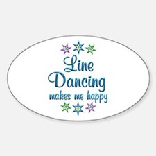 Line Dancing Happy Decal
