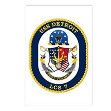USS Detroit LCS-7 Postcards (Package of 8)