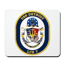USS Detroit LCS-7 Mousepad