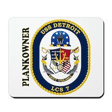 USS Detroit Plankowner Mousepad