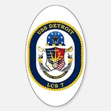 USS Detroit LCS-7 Decal