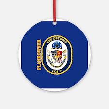 USS Detroit Plankowner Ornament (Round)