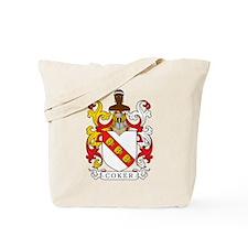 Coker Family Crest Tote Bag