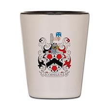 Cornelius Family Crest Shot Glass