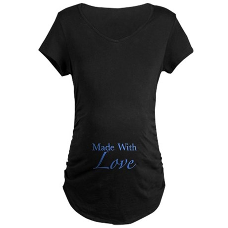 Made With Love Maternity Dark T-Shirt