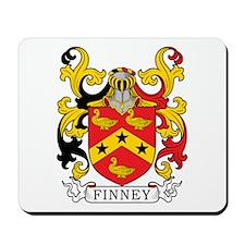 Finney Family Crest Mousepad