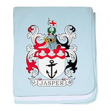 Jasper Family Crest baby blanket