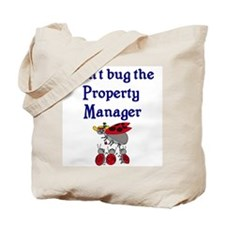 Property Manager Ladybugs Tote Bag