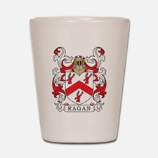 Ragan Family Crest Shot Glass