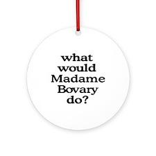 Madame Bovary Ornament (Round)