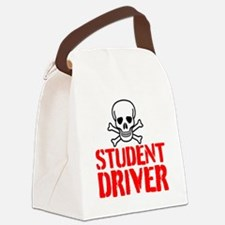 Student Driver Canvas Lunch Bag