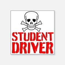 Student Driver Sticker