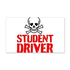 Student Driver Wall Decal