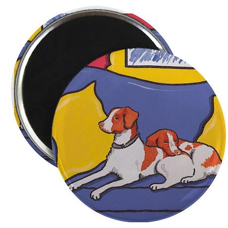 Brittany Spaniel Dog Magnet
