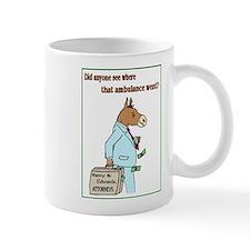 Donkey Ambulance Chaser Mug