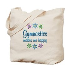Gymnastics Happy Tote Bag