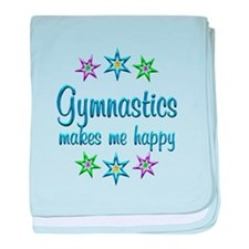 Gymnastics Happy baby blanket