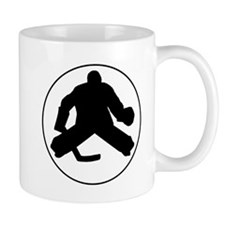 Hockey Goalie Circle Mugs
