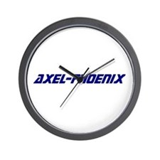 Cute Axel Wall Clock