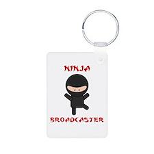 Ninja Broadcaster Keychains