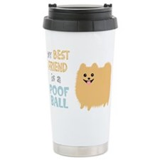 Cute Pomeranian Travel Mug