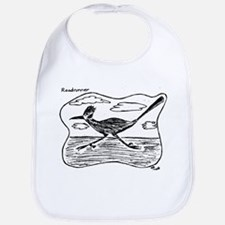 Roadrunner Illustration Bib