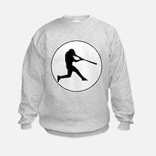 Baseball Batter Circle Sweatshirt