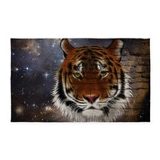 Abstract Tiger 3'x5' Area Rug