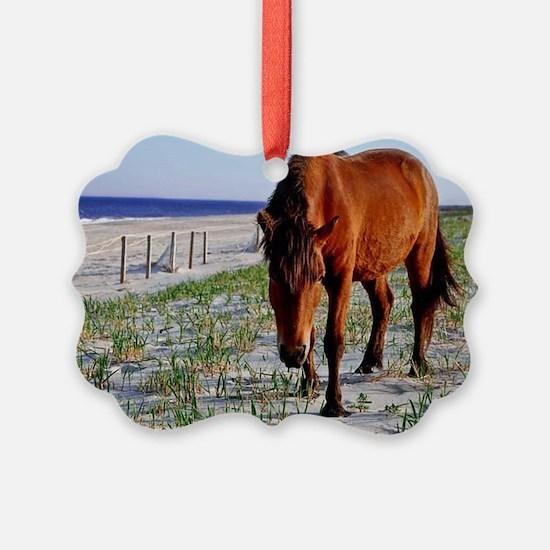 Mystic Beauty, Wild Horse Ornament