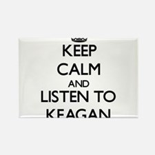 Keep Calm and Listen to Keagan Magnets