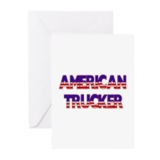 American Trucker Greeting Cards (Pk of 10)