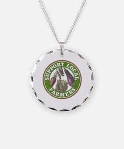 Support Local Farmers Necklace