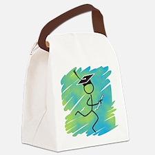 Graduate Runner Canvas Lunch Bag