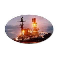 USS Midway CV-41 Flightdeck Wall Decal