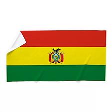 Flag of Bolivia Beach Towel