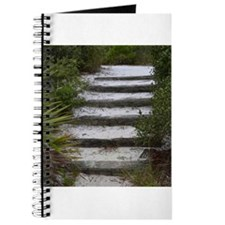 sand ties beach path Journal