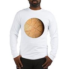 Old basketball Long Sleeve T-Shirt