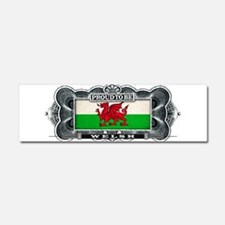 Proud To Be Welsh Car Magnet 10 x 3