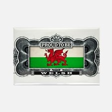Proud To Be Welsh Magnets