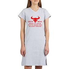 Deja Moo Women's Nightshirt