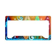 Cute Surf License Plate Holder