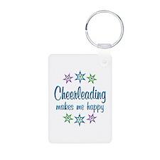 Cheerleading Happy Keychains