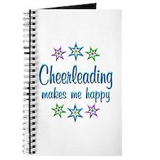 Cheerleading Happy Journal