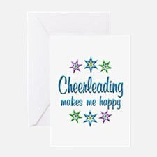 Cheerleading Happy Greeting Card