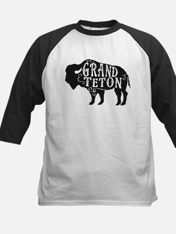 Grand Teton Buffalo Kids Baseball Jersey